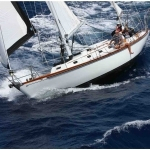 LAZY LEG (ANU) <br/>William Tripp Yawl 40′ 1969