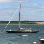 MORGAINE (NED)<br/> Starling Burgess steel sloop 40' 1986