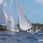 FREE IN ST BARTH (StB)<br/>Alwyn Enoe Carriacou sloop 42′ 2015